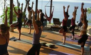 Most beautiful yoga deck