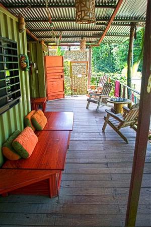 Danyasa eco resort deck