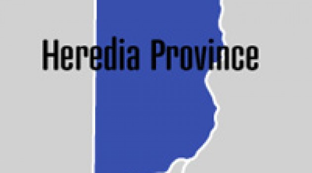 Top 5 Cantons of Heredia Province