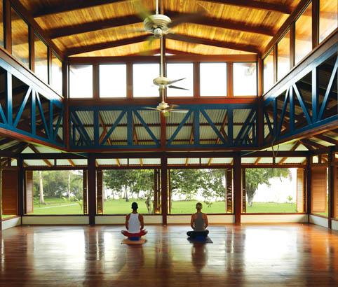 A beatiful view of Blue Osa studio