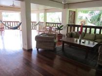 balcony with wooden floor