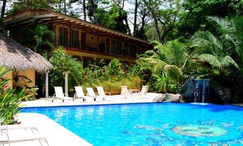 Beutiful swimming pool at hotel DoceLunas