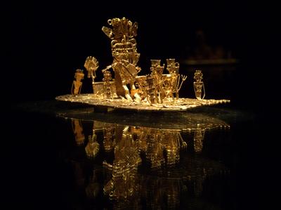 art craft at gold museum