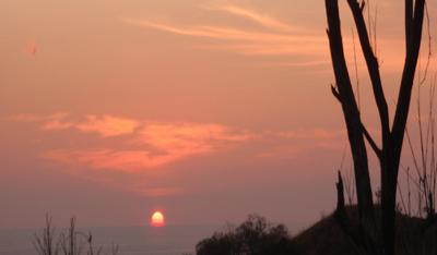 sunset at impulso sato