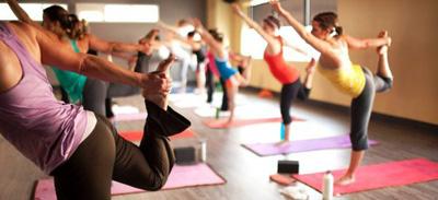 power flow yoga class