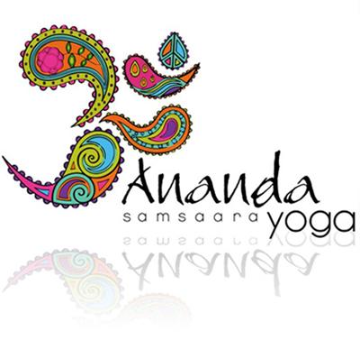 logo of ananda samsaara yoga