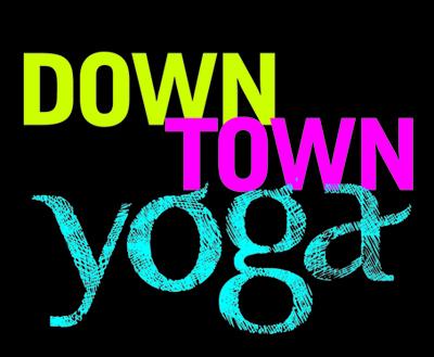 downtown yoga logo