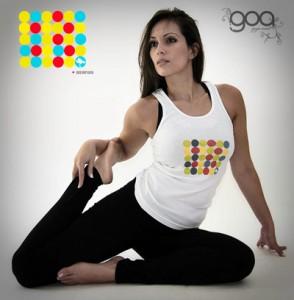 woman doing hatha yoga