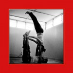 couple doing ashtanga yoga