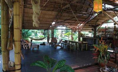 wooden deck at ojo del mar